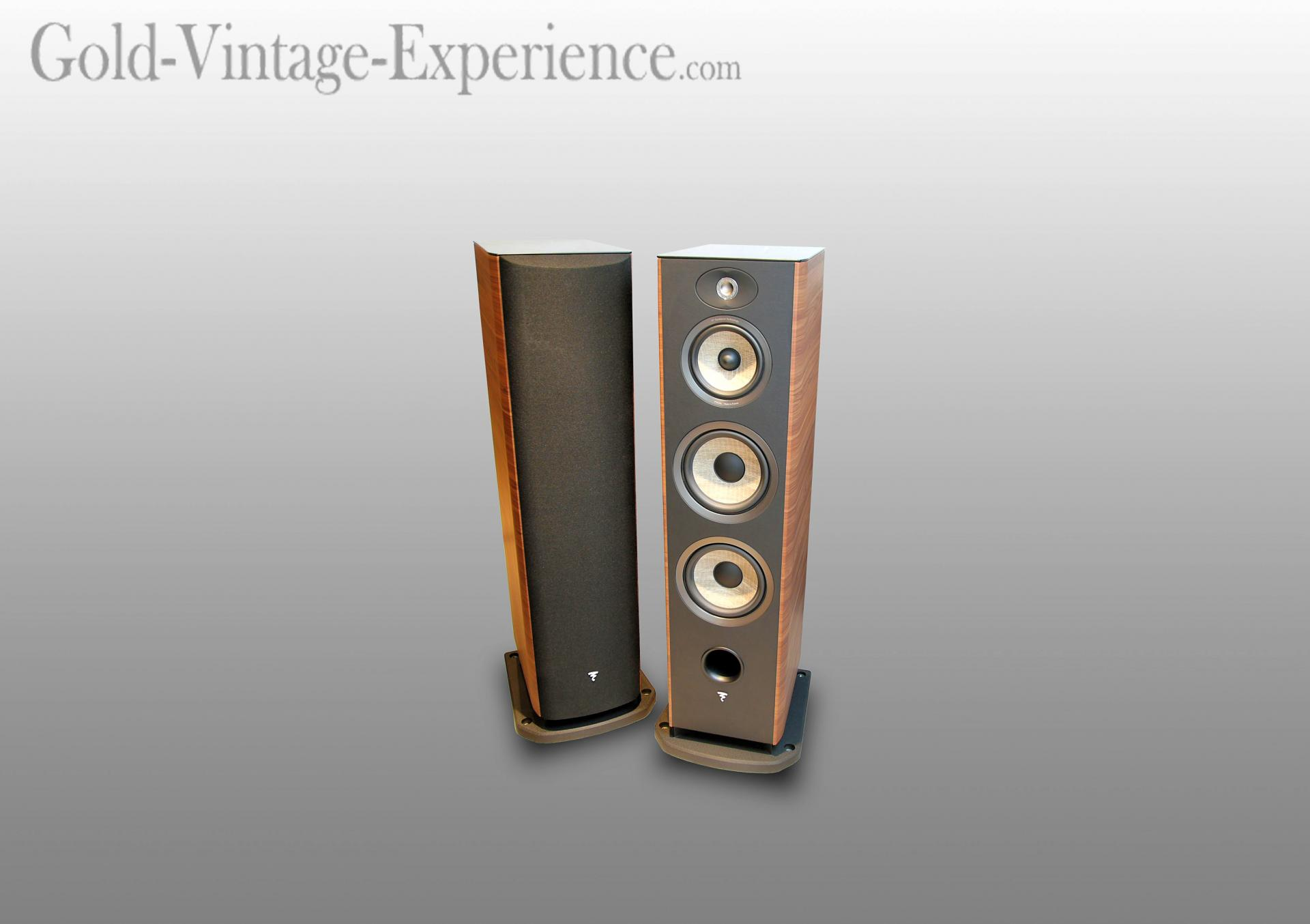 superb pair of speaker focal aria 948. Black Bedroom Furniture Sets. Home Design Ideas