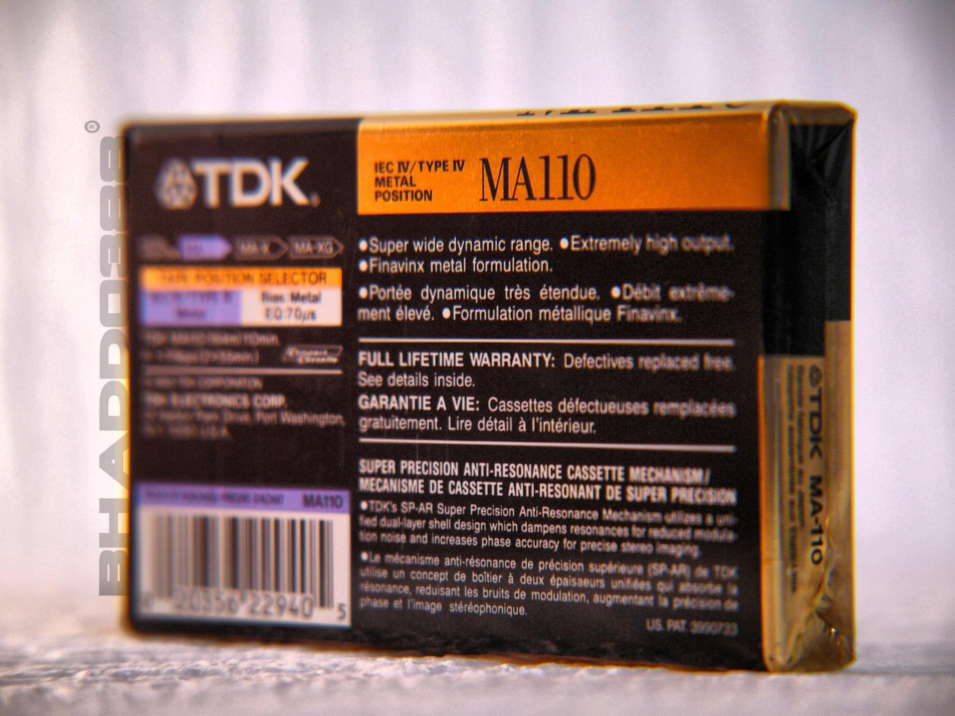 TDK MA 110 - 02