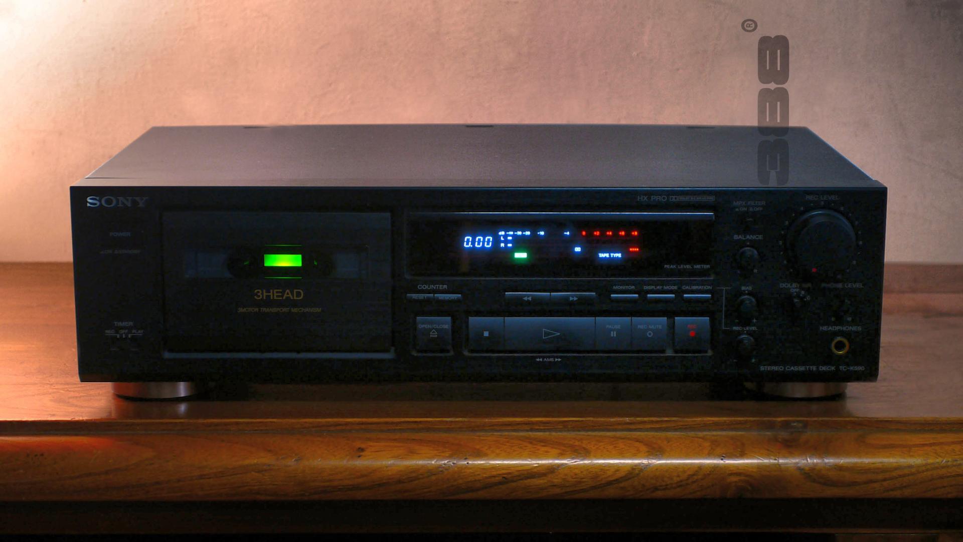 SONY TC K 590