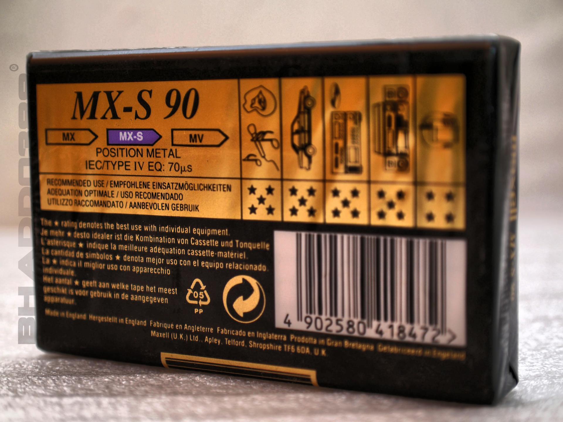 MAXELL MXS 90 - 02