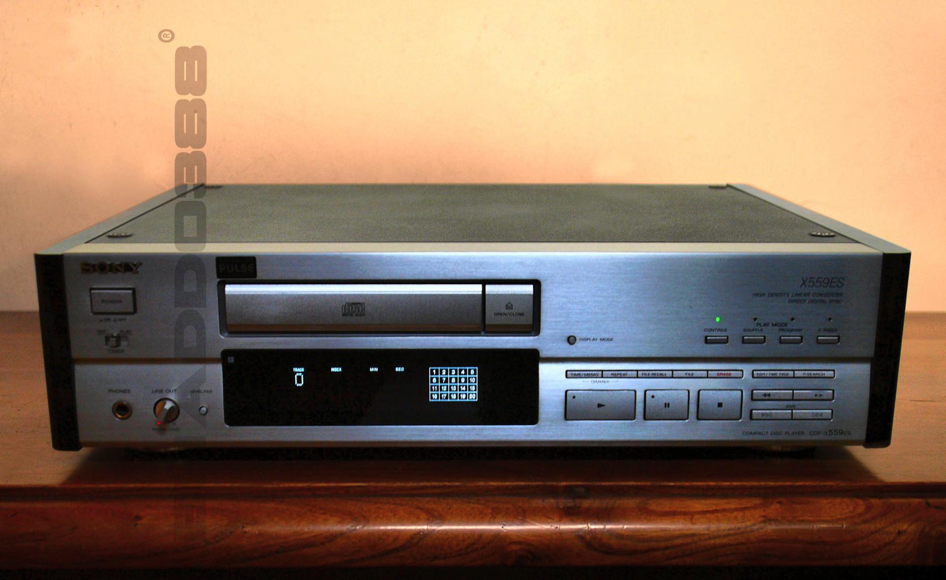SONY CDP-X559ES