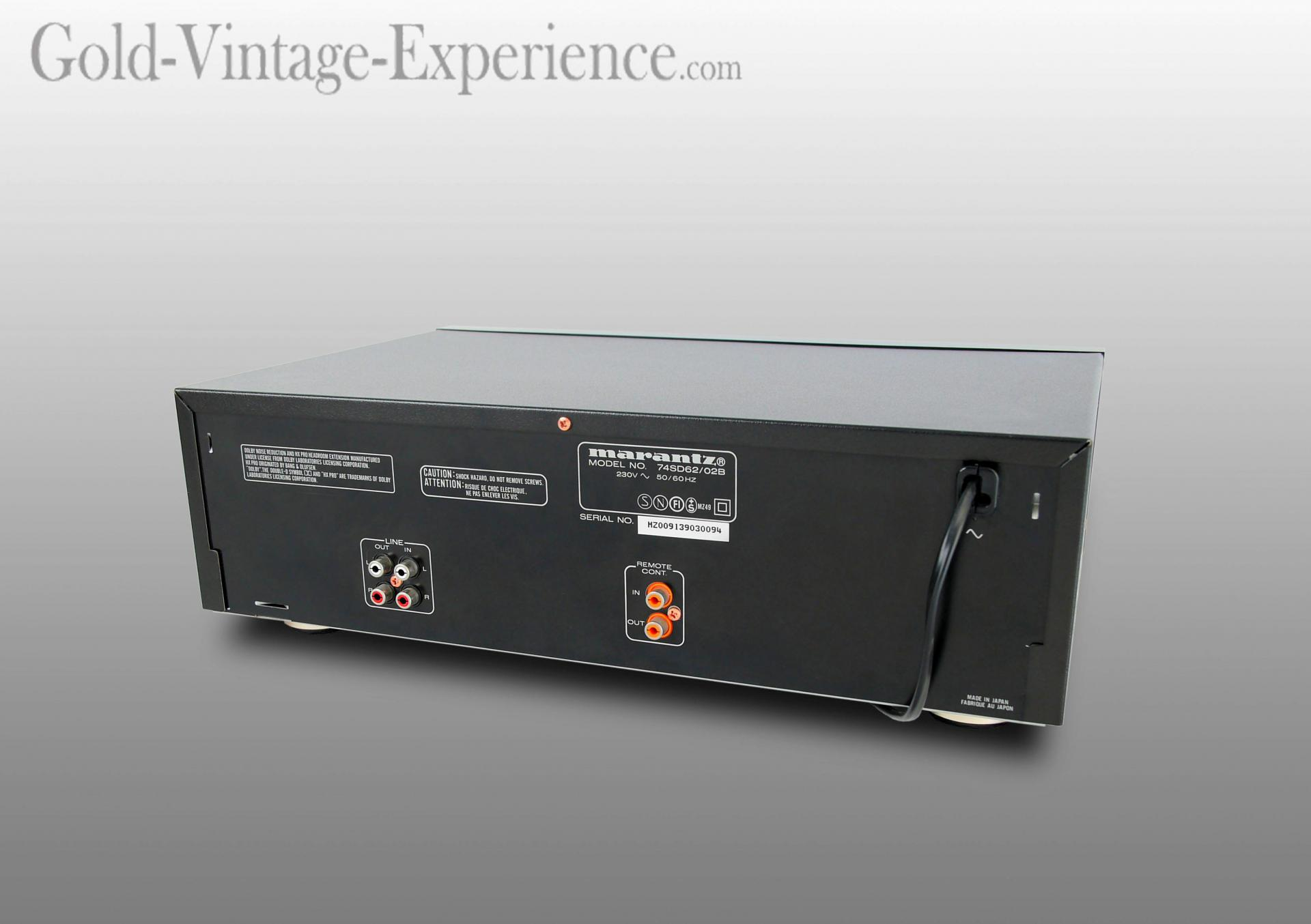Marantz sd 62 back