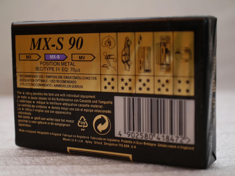 Maxell mx s 90 02