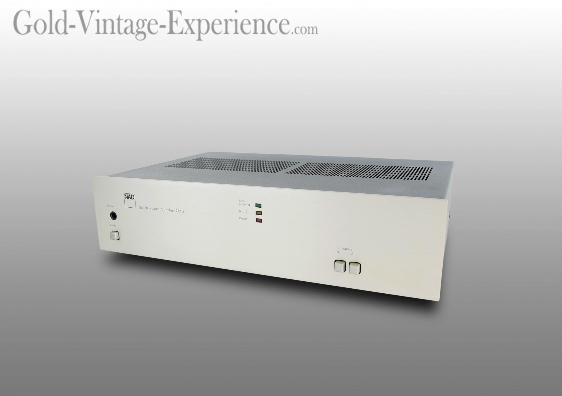 superb power amplifier nad 2140
