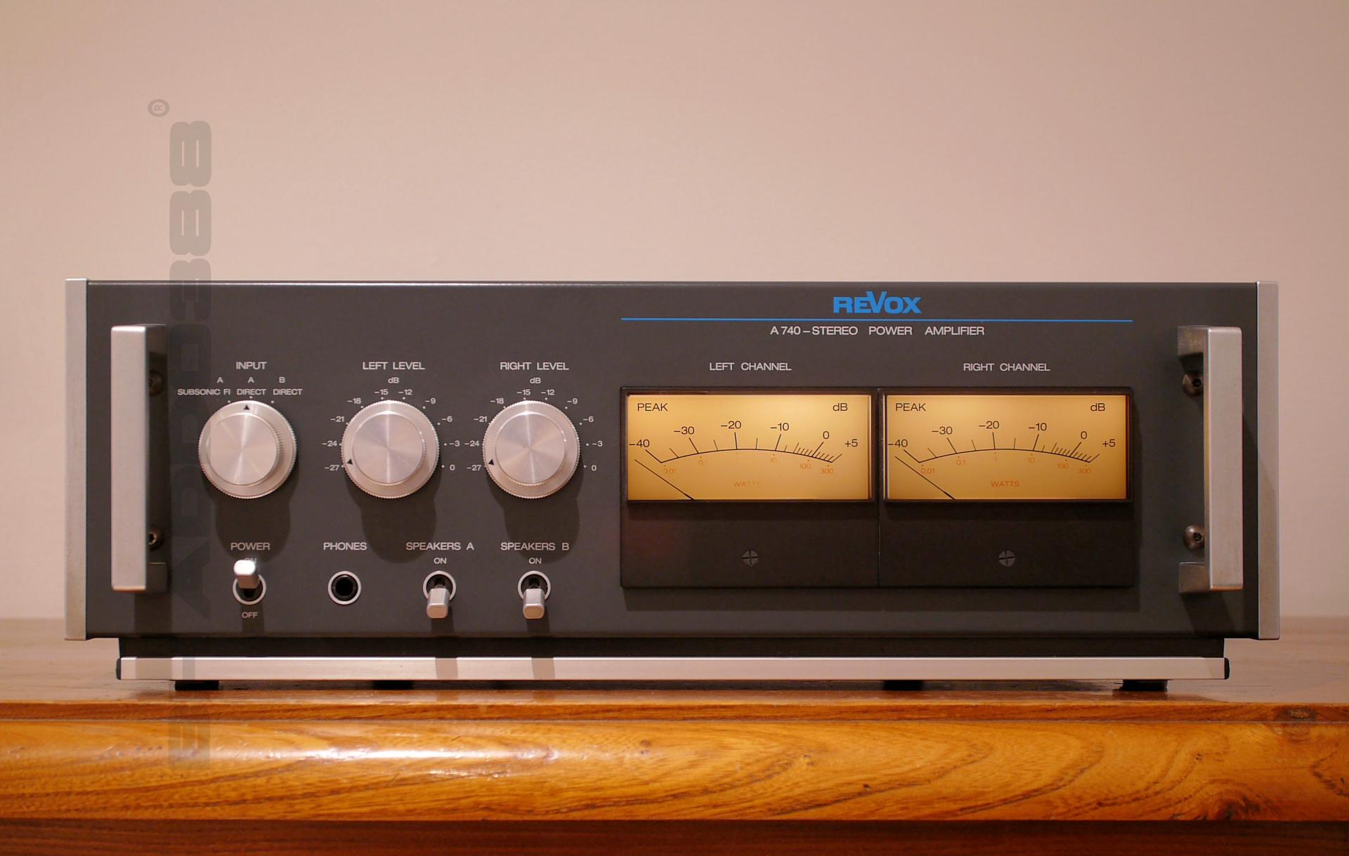 Revox a 740