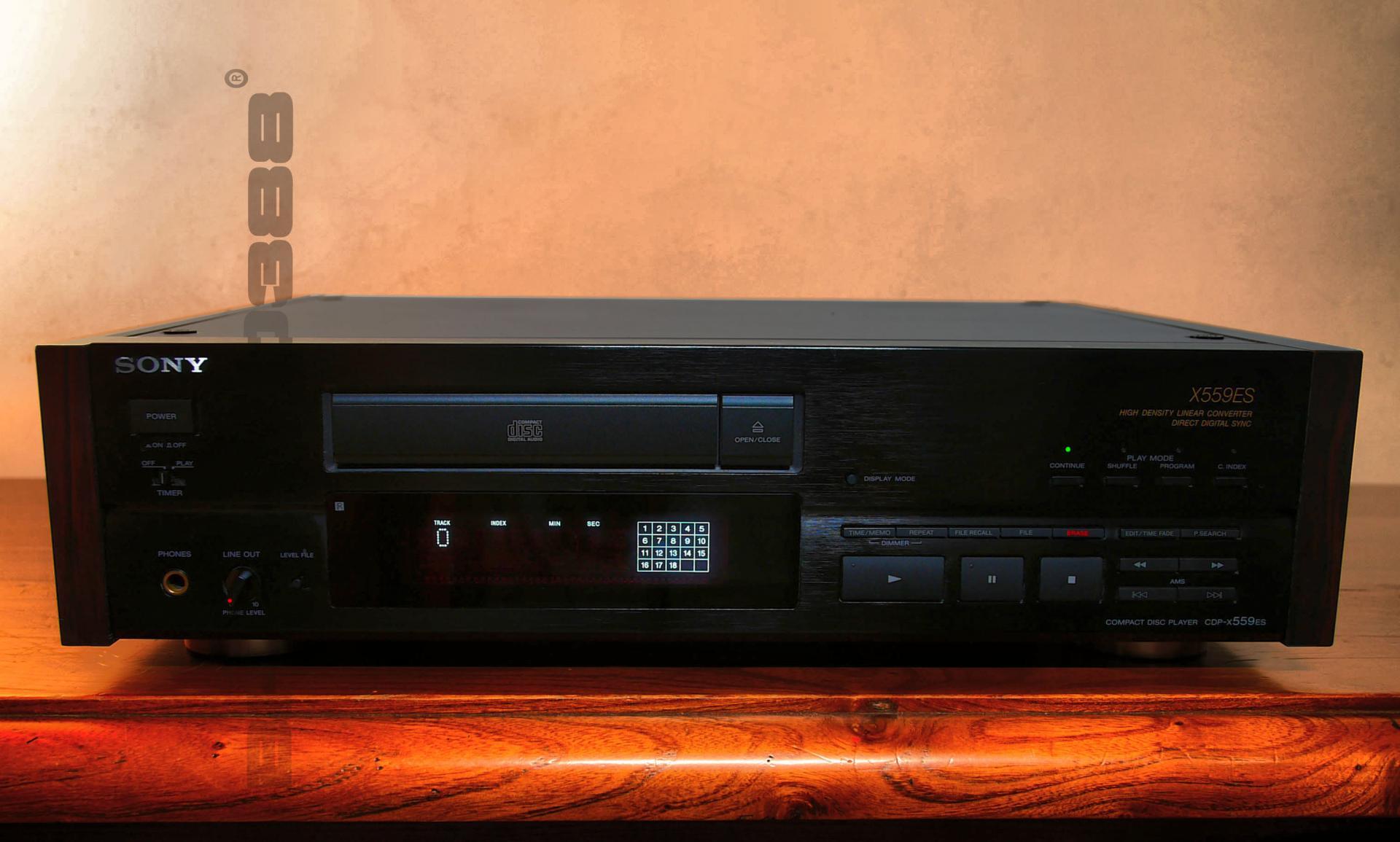 Sony cdp x559es bl