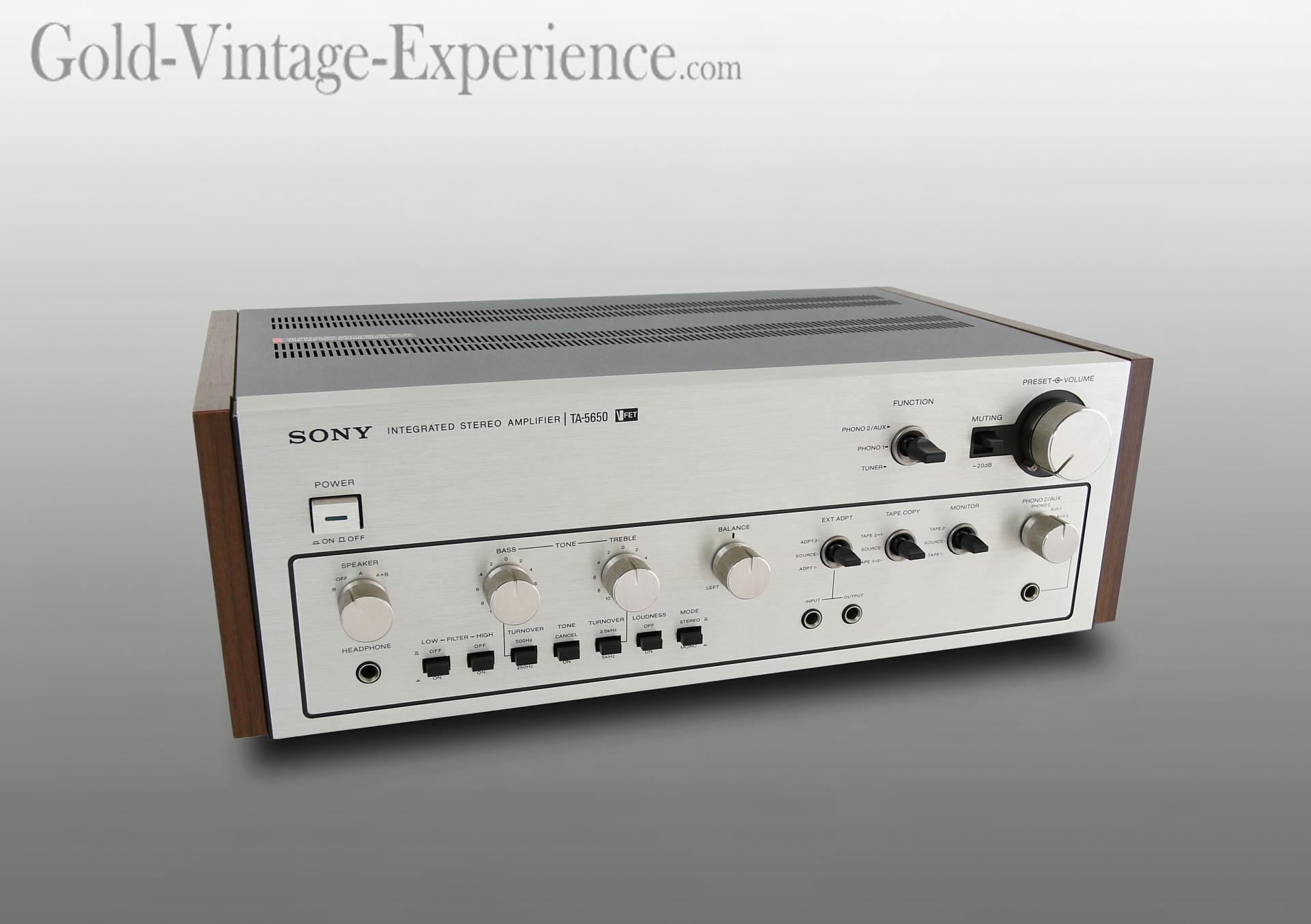Sony ta 5650 v fet