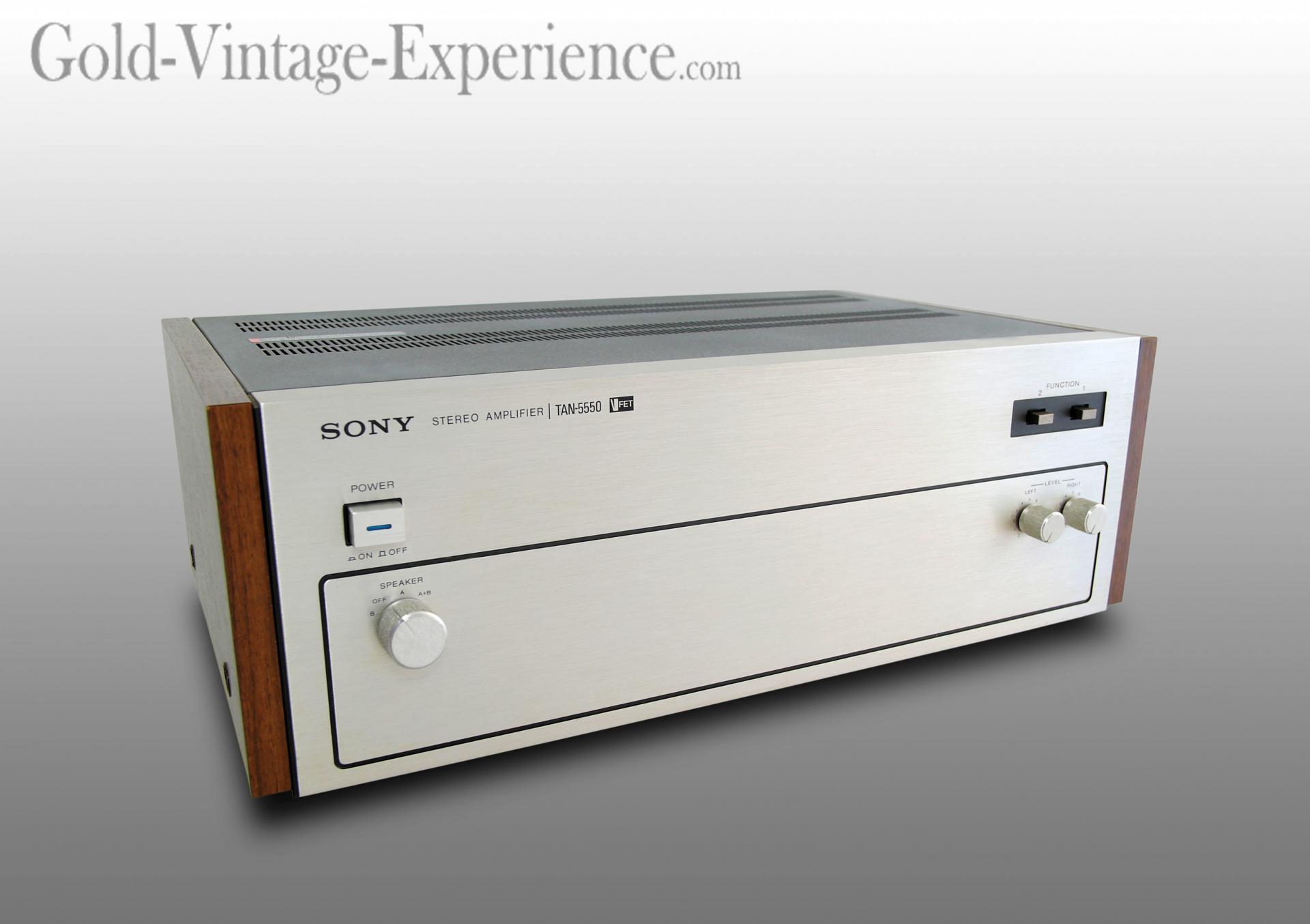 Sony tan 5550