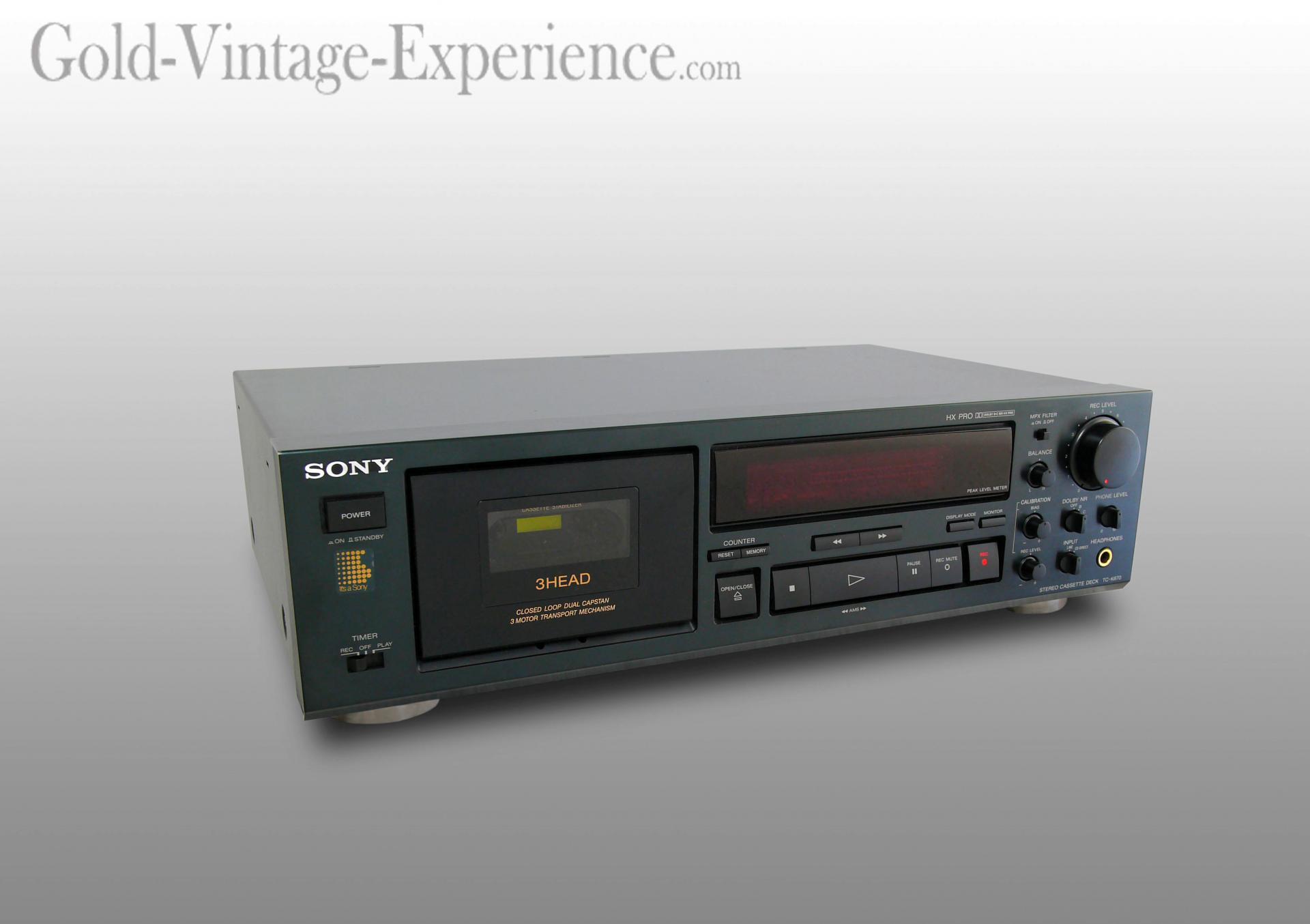 Sony tc k670