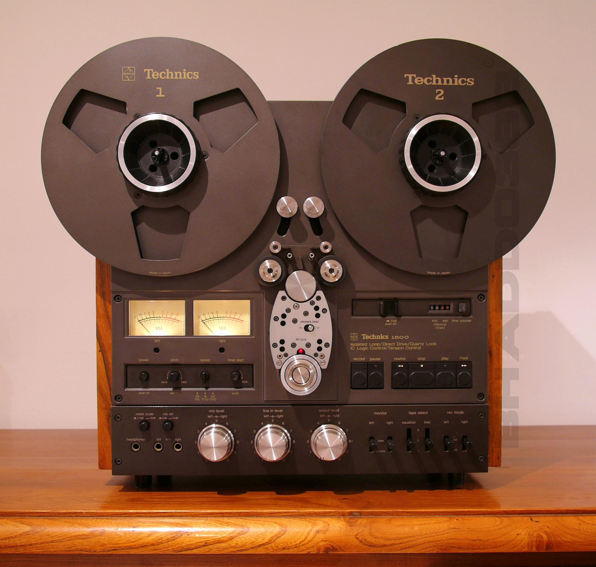 Technics rs 1700 - front